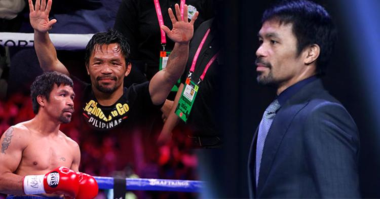 ឈរលើអាជីព ២៦ ឆ្នាំ ទីបំផុតស្ដេចប្រដាល់ Manny Pacquiao ប្រកាសចូលនិវត្តហើយ